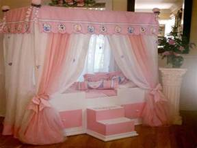 Princess Bed Canopy Disney Princess Beds Home Decorating Ideas