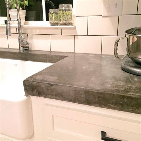 cement kitchen countertops best 25 concrete countertops ideas on cement