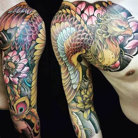 japanese tattoo phoenix az 109 best phoenix tattoos for men rise from the flames