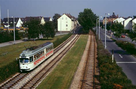 hängematte mannheim tw 389 in mannheim sandhofen 11 08 1986 bahnbilder de