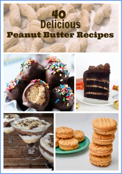 40 peanut butter recipes from easy to amazing
