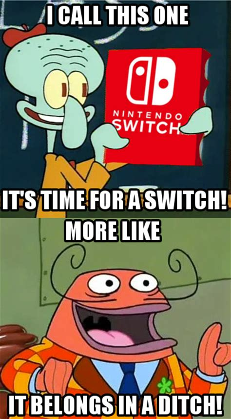Nintendo Switch Memes - nintendo switch meme by kingjion on deviantart