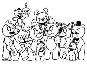 fnaf coloring pages freddy fnaf location free coloring pages