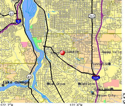 milwaukie oregon map 97222 zip code milwaukie oregon profile homes