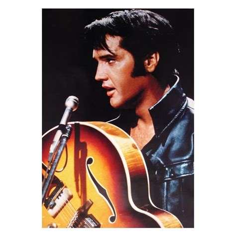 Kitchen Wall Stickers Decor elvis presley the king of rock n roll wall poster