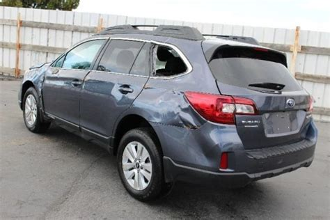 2015 Subaru Outback 2 5i Premium Repairable Salvage