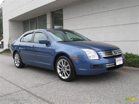 Ford Fusion Se Sport by 2009 Sport Blue Metallic Ford Fusion Se V6 Blue Suede