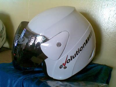 Baru Helm Gm Evolution Ladybugs toko helm acel di kota sangatta helm gm evolution putih
