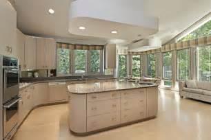 good Concrete Kitchen Cabinets Designs #1: modern-kitchen-large-island.jpg