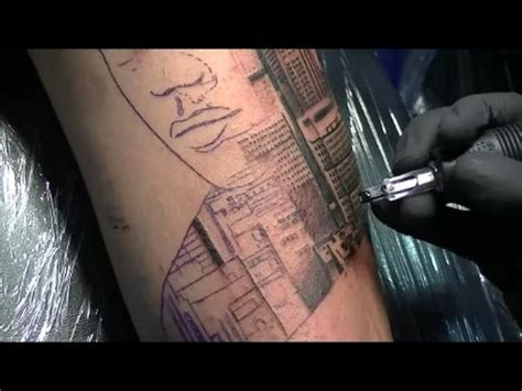 city skyline tattoo city skyline time lapse