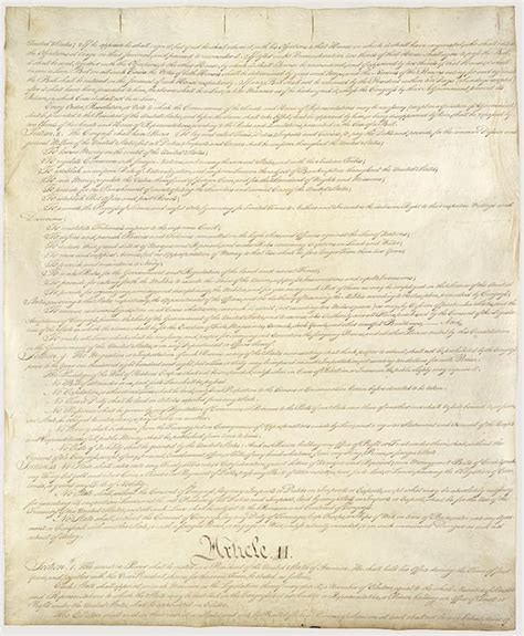 printable original us constitution original copy constitution of the united states of america