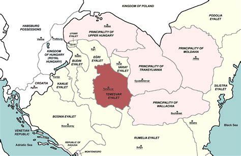 Ottoman Empire Provinces Temesvar Province Ottoman Empire