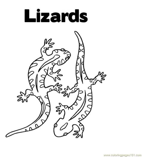 christmas lizard coloring pages lizard coloring page free lizard coloring pages