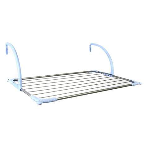 Clothesline Rack by Household Essentials Tripod Freestanding 1 Tier Stainless