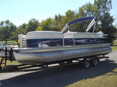 sylvan used boats used pontoon sylvan boats for sale boats
