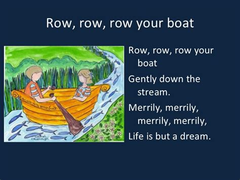 row the boat chant joan shin s songs and chants for young learners