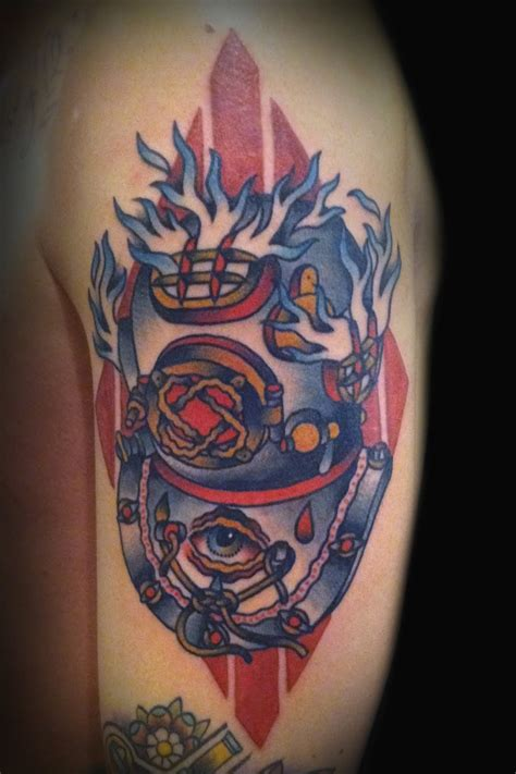 diving helmet tattoo 59 best images about diver s on san