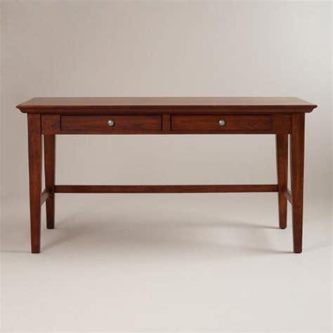 world market desks mahogany konrad desk world market