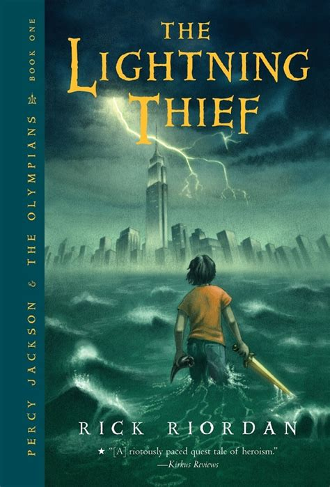 percy jackson book report the lightning thief forever