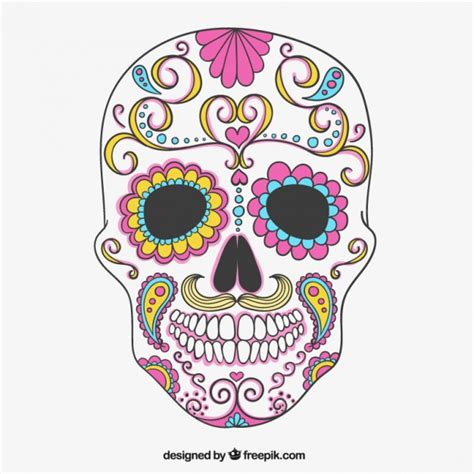 colorful skull pin colorful skulls on