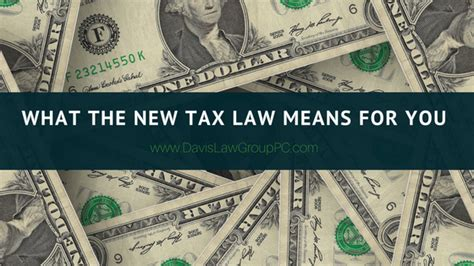 s new tax means top what the new tax act means for you