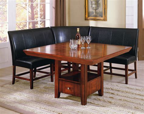 Dining Room Table With Corner Bench Dining Room Table With Corner Bench Seat Thehletts