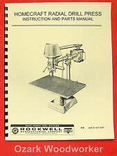 Homecraft Delta Drill Press Ebay