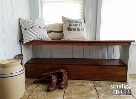 bookcase to bench repurposed bookcase headboard bench prodigal pieces