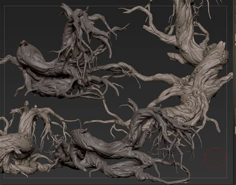 zbrush wood tutorial zbrush sketchbook of zhelong xu page 2 sculpture