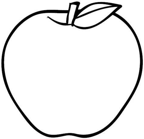 Imagenes Para Colorear Una Manzana | dibujos de manzanas dibujos