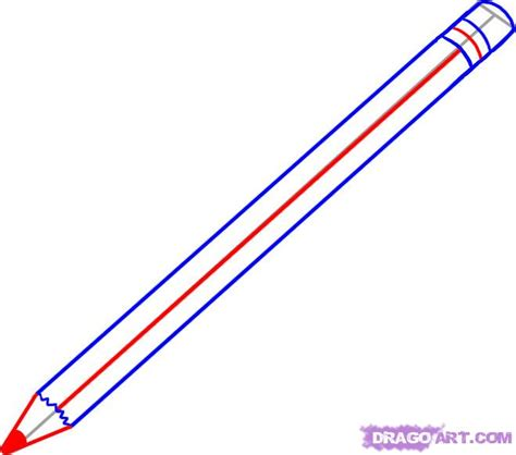 How To Use Sketching Pencils How To Draw A Pencil Step By Step Stuff Pop Culture