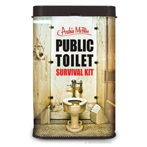 Mukena P Daa P Da Milo toilet survival kit novelty gift joke hens