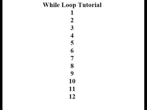 javascript pattern using loops javascript while loop tutorial youtube