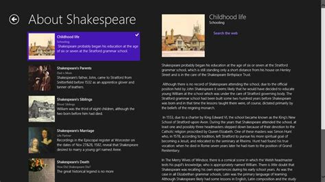 William Shakespeare 4313 by William Shakespeare App For Windows In The Windows Store