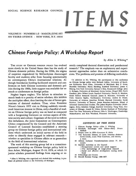 Items Vol. 31 No. 1-2 (1977) by SSRC's Items & Issues - Issuu