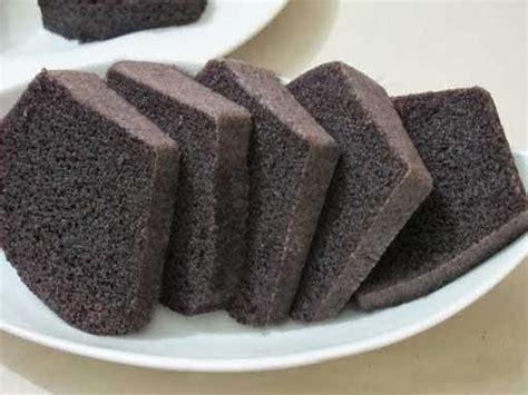 cara membuat brownies kukus ketan hitam pondan resep brownies ketan hitam resep masakan favorit
