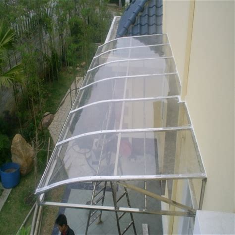 clear awning clear polycarbonate window awning polycarbonate sheet