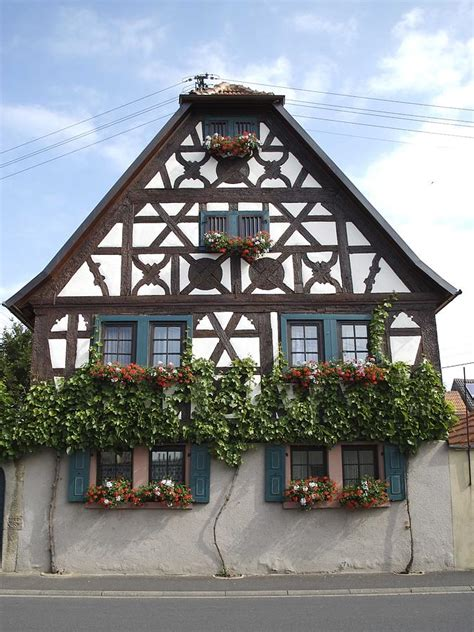 Cottages Germany by German Cottage Photograph By Reyna Martin