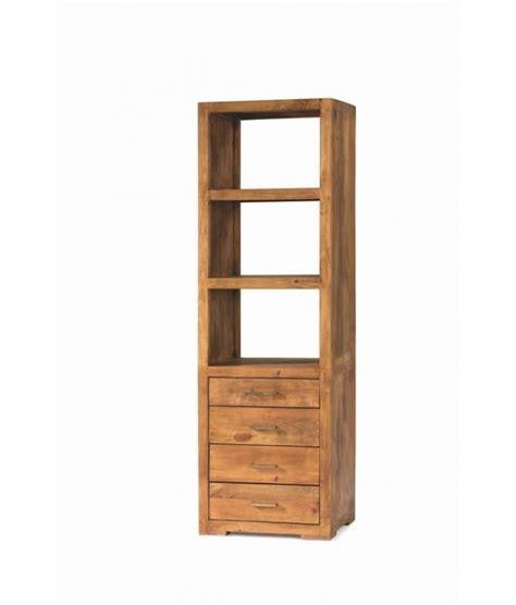 libreria rustica comprar librer 237 a de madera rustica 55 cm modular studio 40082