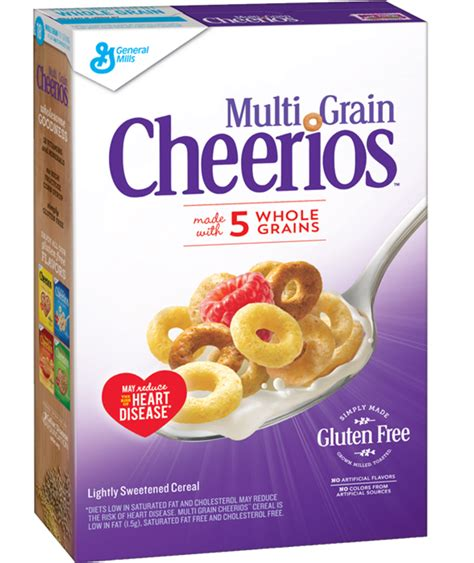 cheerios 4 whole grains multi grain cheerios 174