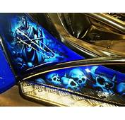 Crusader Blue Buggy  Airbrush Art Usa Professional