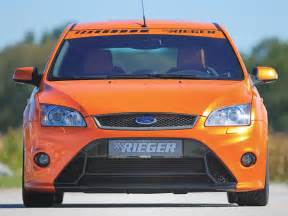 rieger front bumper with hws ford focus mk2