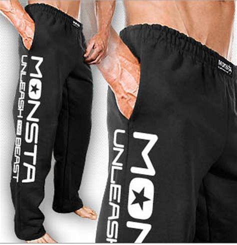 monsta clothing mens workout unleash sweatpants