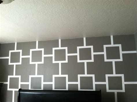 wall paint design ideas with tape squares and lines wall color ideas pinterest