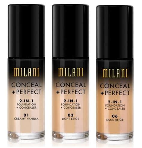 Foundation Milani Milani Cosmetics Conceal Foundation Bubblebox