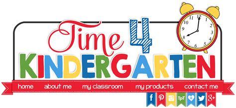 for kindergarten time 4 kindergarten