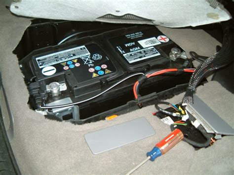 Porsche Batterie by Cayenne 958 Battery Compartment Access Rennlist