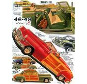 1946 – 1947 1948 Chrysler Town &amp Country Page American
