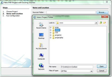 Membuat Web Php Dengan Netbeans | cara membuat project php codeigniter dengan editor