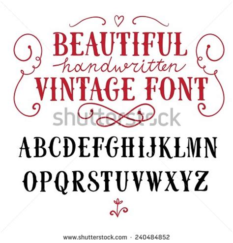 Vintage Lettering Fonts Vintage Lettering Fonts Pictures To Pin On
